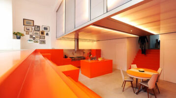 Cuina de color taronja