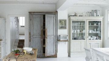 Cuina rústica moderna amb tocs vintage