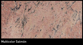 Granit Multicolor Salmó